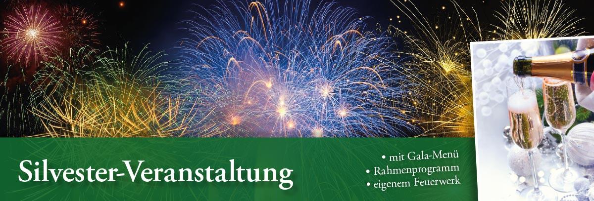 Silvester feiern im Gasthof Schloss Hubertus