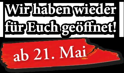 Gasthof Schloss Hubertus wieder geöffnet